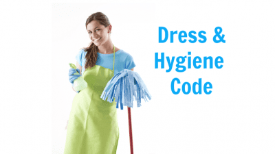 Employee Handbook Guide, Dress and Hygiene Code