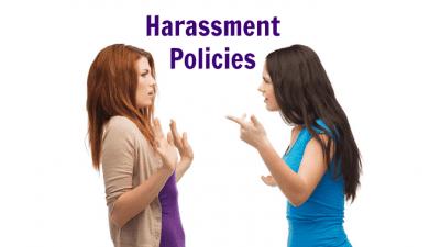 Employee Handbook Guide, Harassment Policies