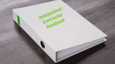 Employee Handbook Guide, Independent Contractor Handbook