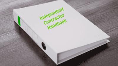 Employee Handbook Guide, Independent Contractor Handbook