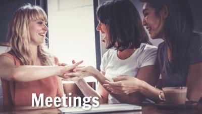 Employee Handbook Guide, Meetings