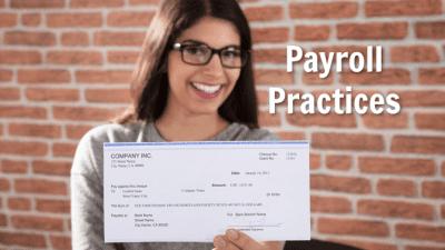 Employee Handbook Guide, Payroll Practices