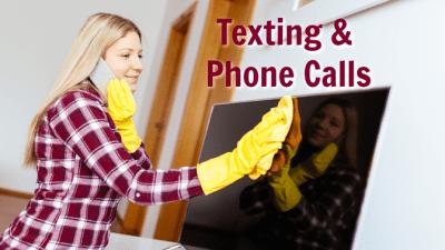 Employee Handbook Guide, Texting and Phone Calls