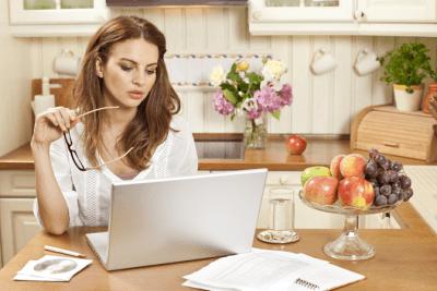 Employee Handbook Guide, Woman on Computer