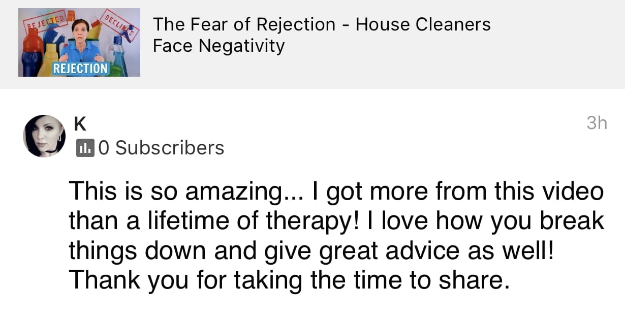 So amazing, Ask a House Cleaner Testimonial