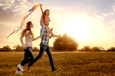 Think They're Better Than You, Family Flying Kite