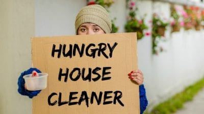When Customers Dont Pay, Hungry House Cleaner