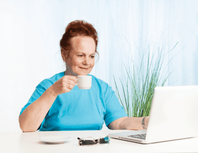 Ageism - Age Discrimination, Woman on Her Computer