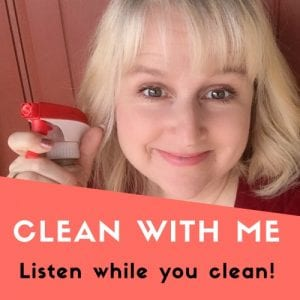 Raani Starnes, Clean With Me Podcast logo