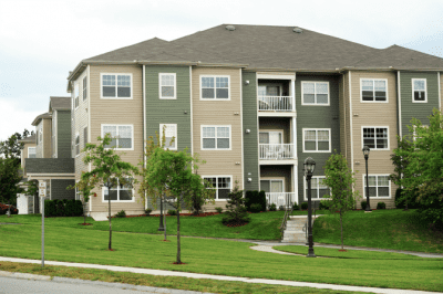Bid Apartment Complexes, Apartment Building