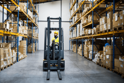 Create Your Own Line of Cleaning Products, Warehouse Forklift