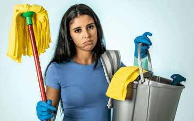 Hoarding Jobs, Frustrated House Cleaner