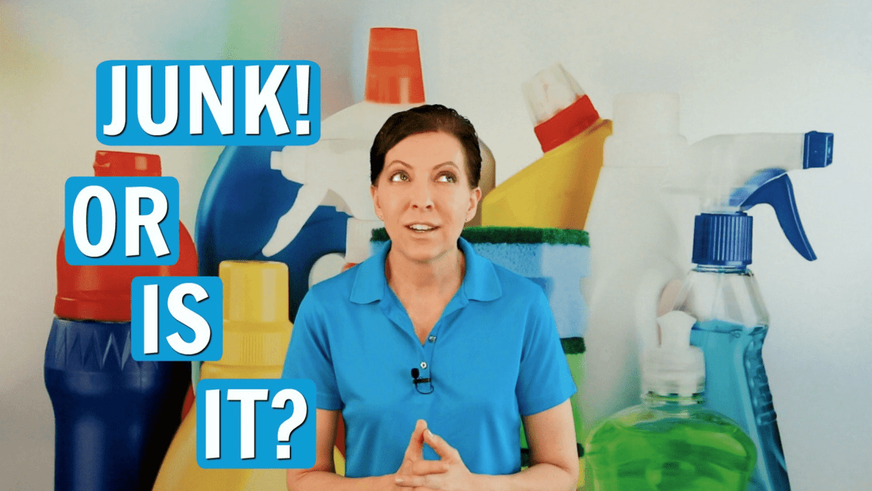 How do you know if it's junk, Angela Brown, Savvy Cleaner
