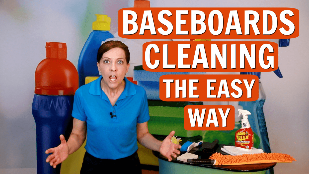 How to Clean Baseboards the Easy Way, Angela Brown, Savvy Cleaner