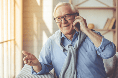 If I Did a Good Job, Older Man on the Phone