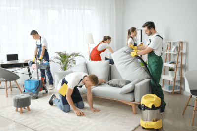 SDS Safety Data Sheets, House Cleaning Team