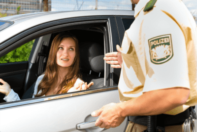 The Rules Do Apply To You, Woman Pulled Over in Car By Police