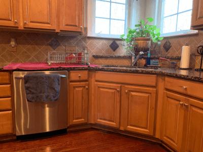 Clean Around Lived In, Kitchen