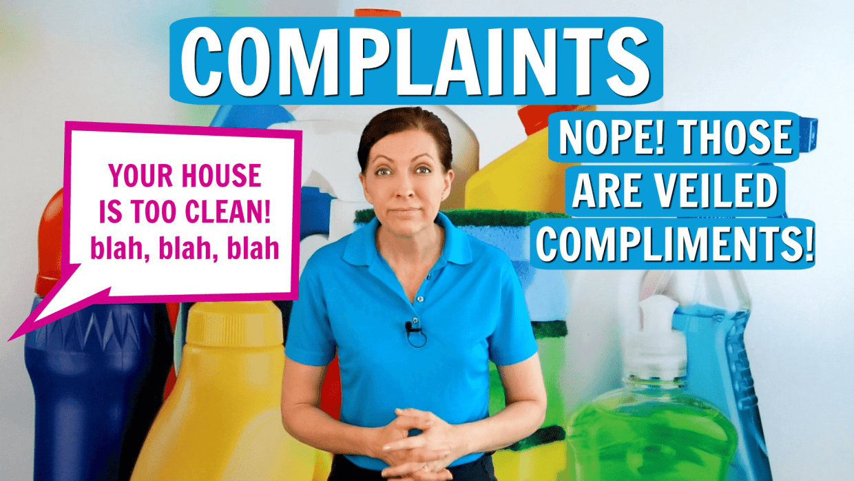 Compliments and Complaints, Angela Brown, Savvy Cleaner