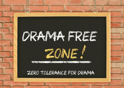 Compliments and Complaints, Drama Free Zone