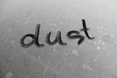 Dust Where Does it Come From, Dust Written in Dust