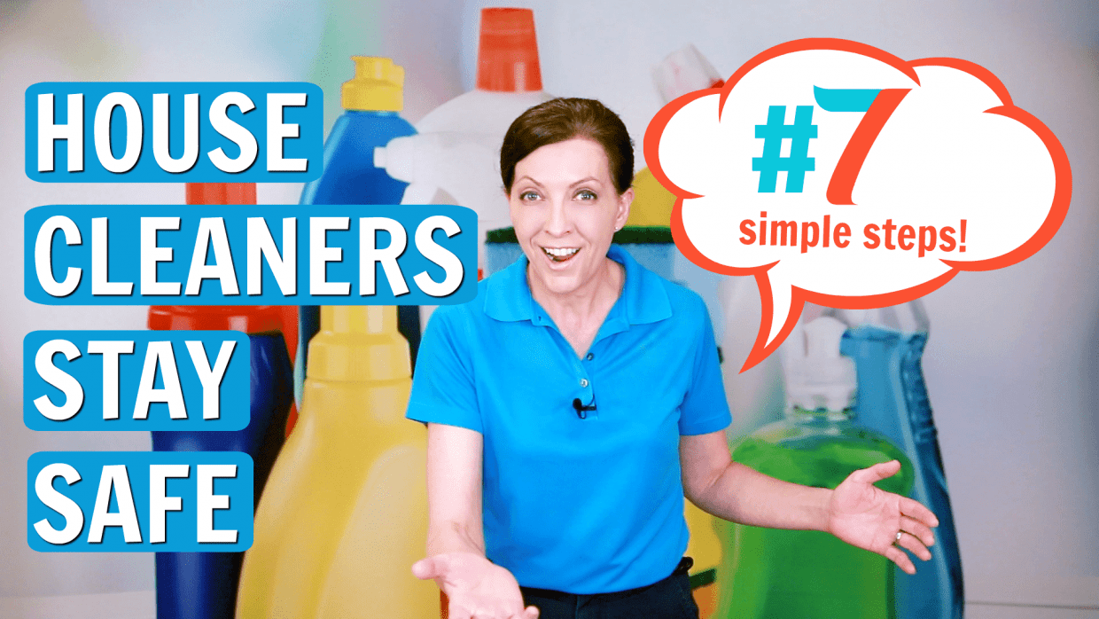 How to Stay Safe When Cleaning Solo, Angela Brown, Savvy Cleaner