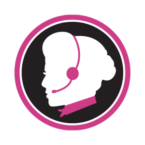 Pink Callers Logo, 500x500