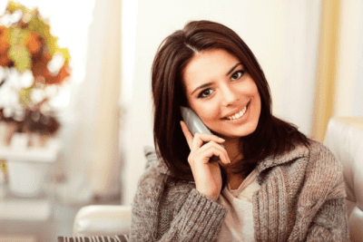 Unreliable Employees, Smiling Woman on Phone