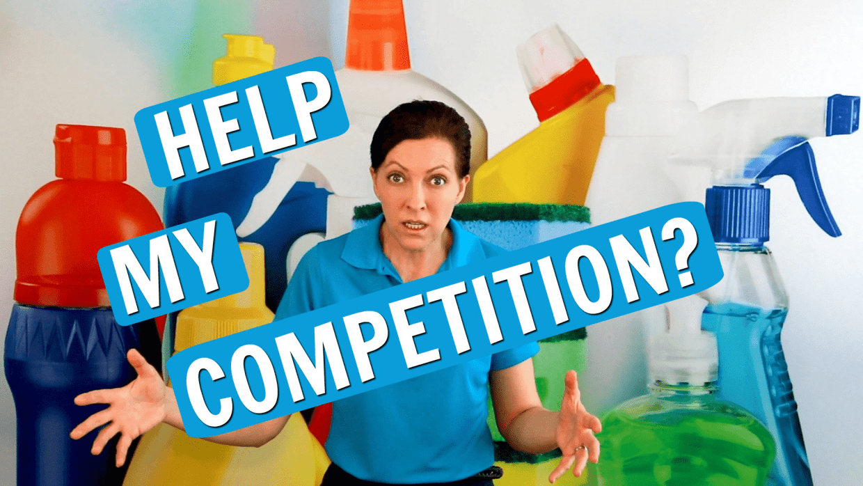 Help Your Competition, Savvy Cleaner
