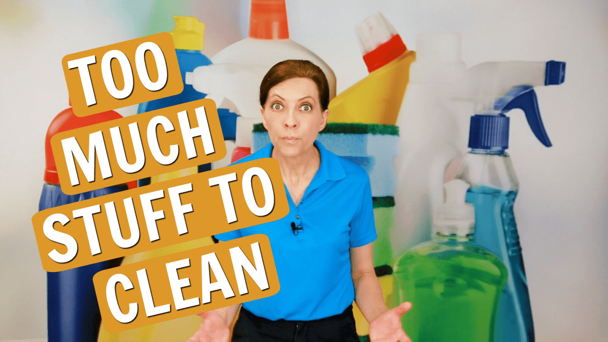 Too Much Stuff to Clean, Angela Brown, Savvy Cleaner