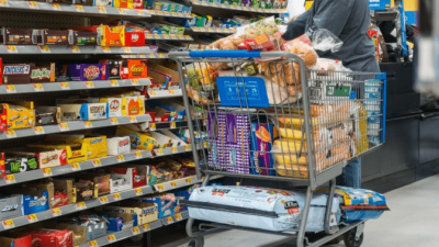 Can Hoarders Be Cured shopping cart overflowing with stuff