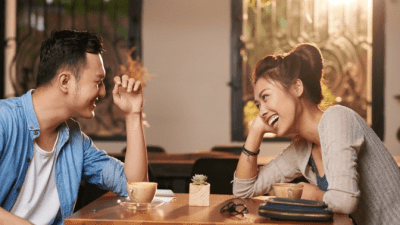 How Early Can I Clean couple at restaurant on date