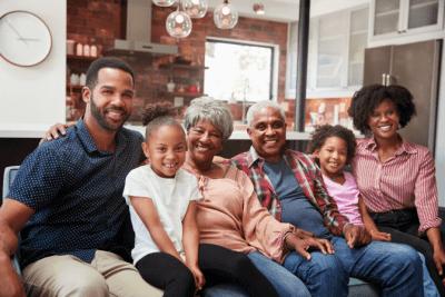 Personal vs. Professional You, Family Portrait