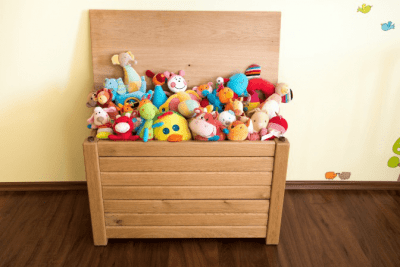 Rates for Hoarding Cleanup wooden toybox