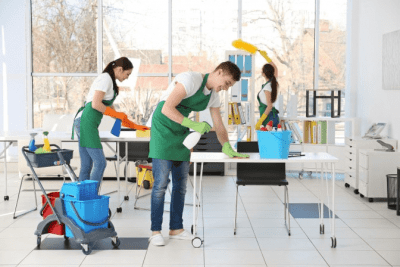 Should Employees Know What You Charge, Cleaning Crew