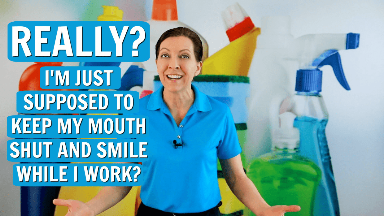 How to Ask a Customer to Stop Smoking, Angela Brown, Savvy Cleaner