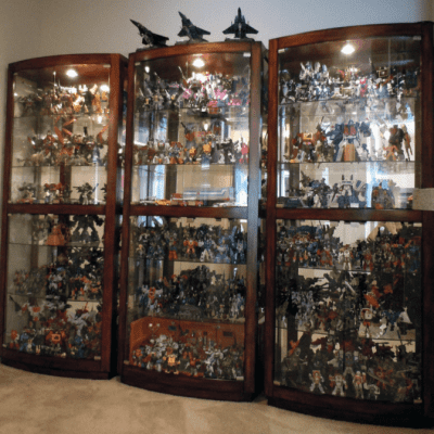 Fragile Collections, Display Cabinet of Figurines
