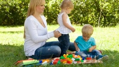 Permission to Toss, Lego parent and kids
