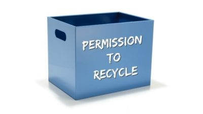 Permission to Toss, empty bucket