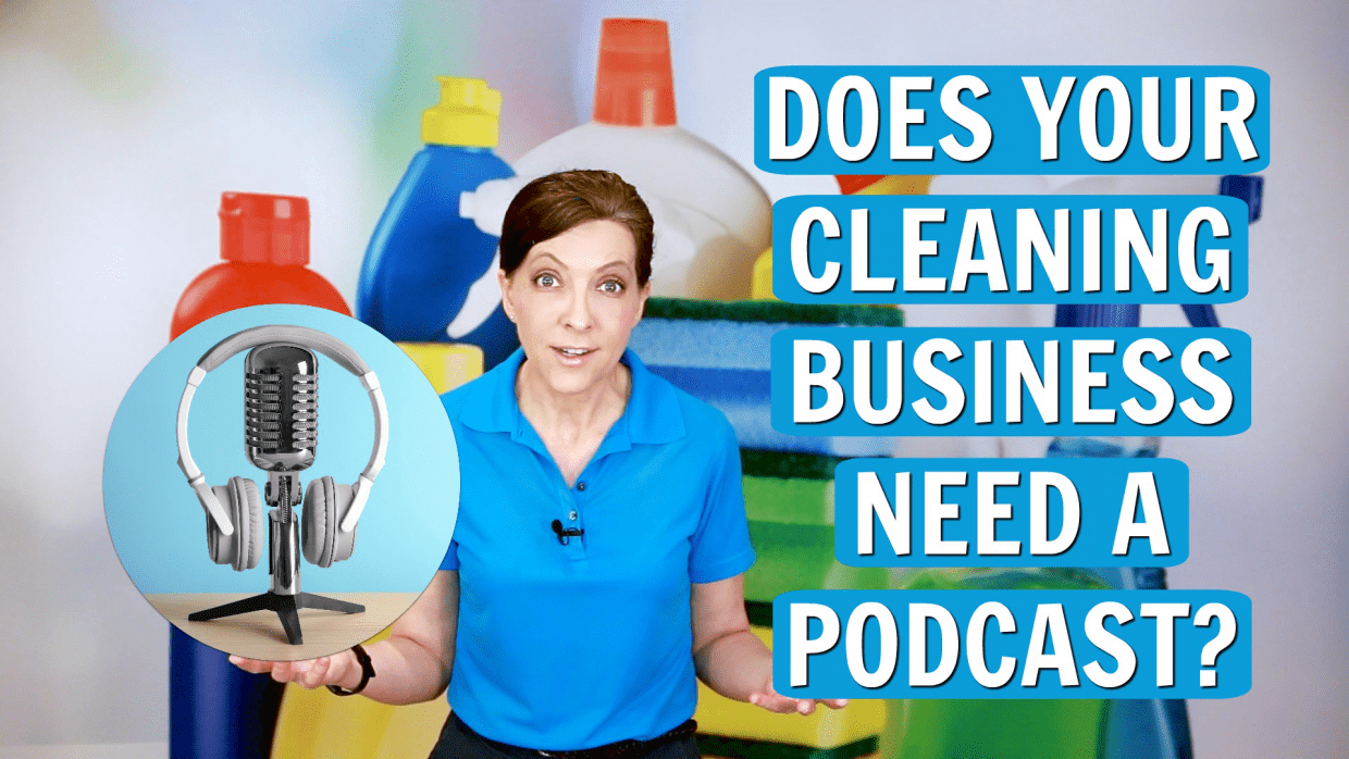 Should Your Cleaning Business Have a Podcast, Angela Brown, Savvy Cleaner