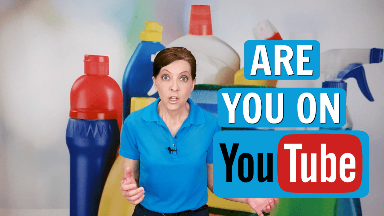 Should My Cleaning Business Have a YouTube Channel, Angela Brown, Savvy Cleaner