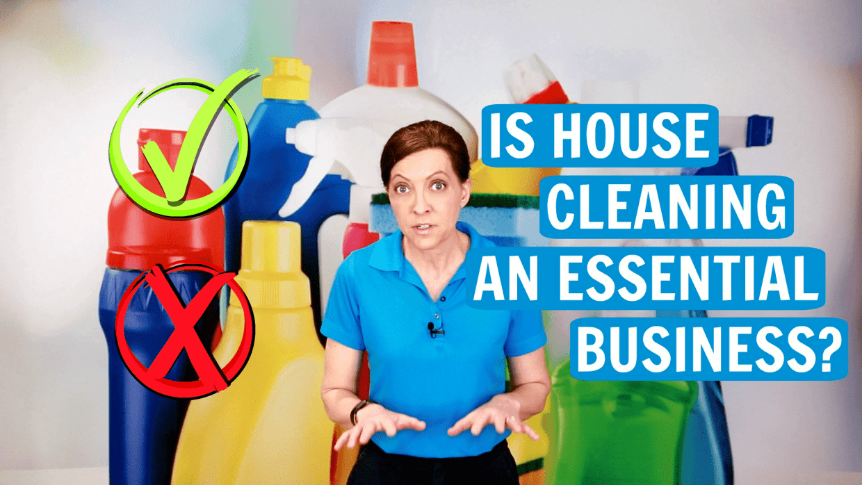 Are House Cleaners Essential, Angela Brown, Savvy Cleaner
