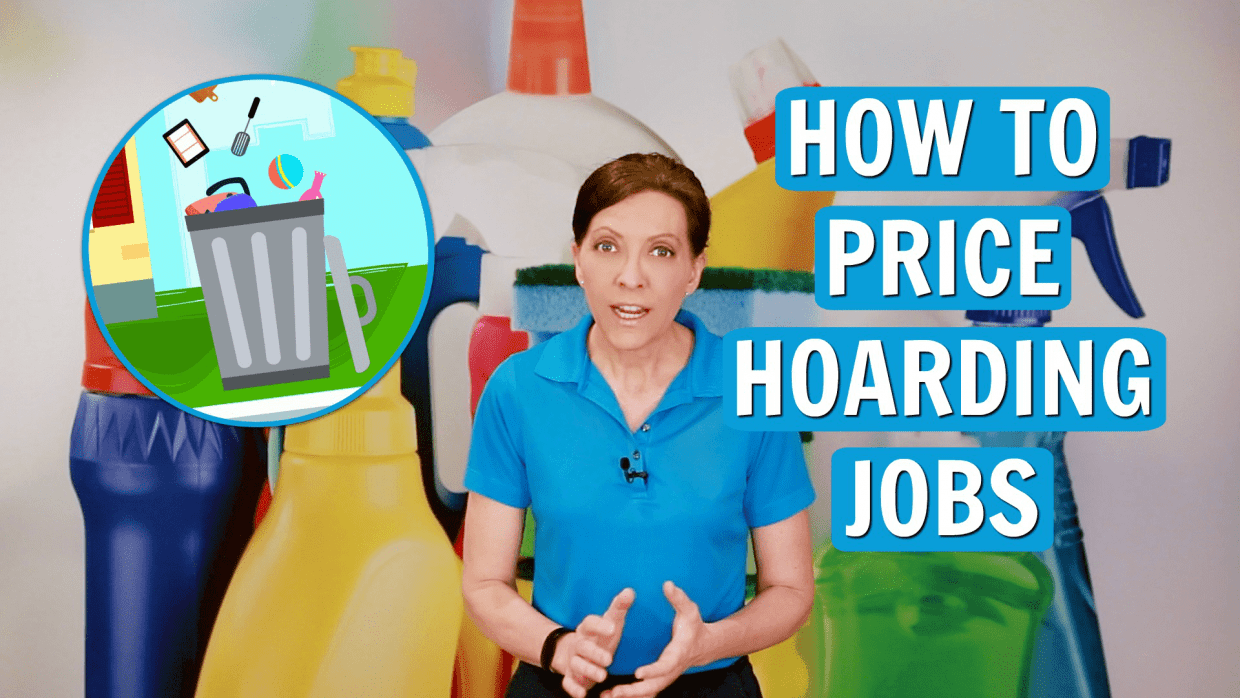 How to Charge for a Hoarding Job, Angela Brown, Savvy Cleaner