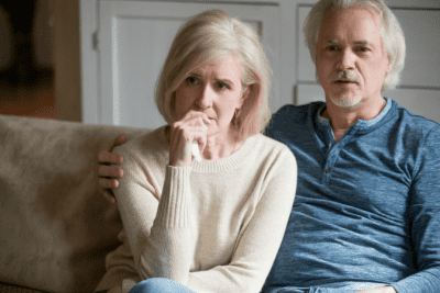 Advertise Without Scare Tactics, Worried Woman and Man