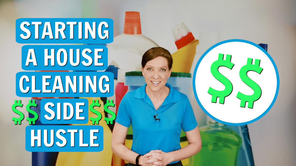 House Cleaning Side Hustle, Angela Brown, Savvy Cleaner