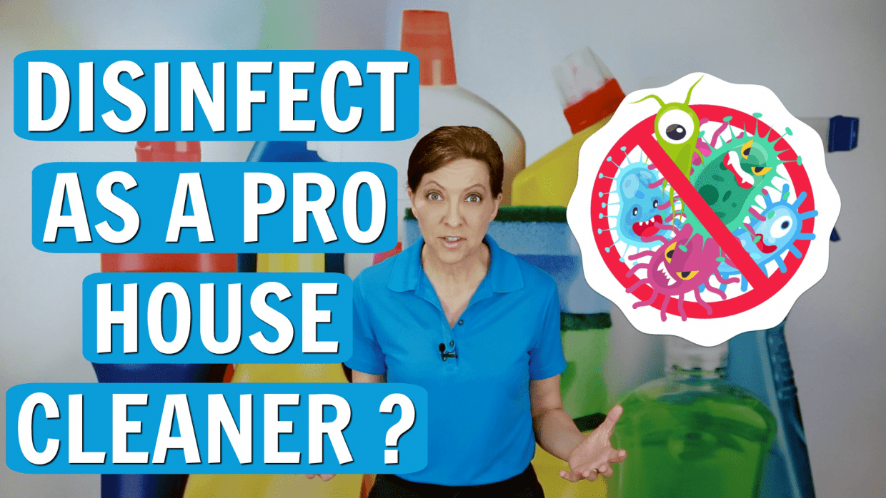 Should I Disinfect as a Professional House Cleaner, Angela Brown, Savvy Cleaner
