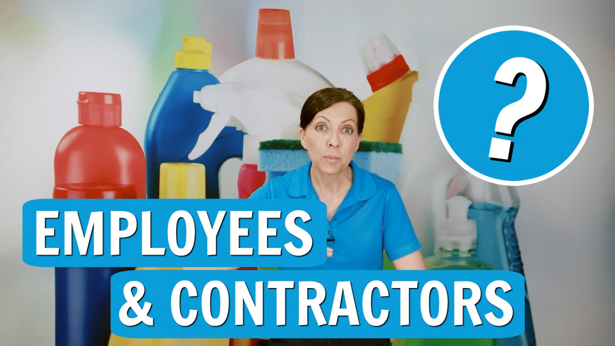 Employees or Contractors, Angela Brown, Savvy Cleaner