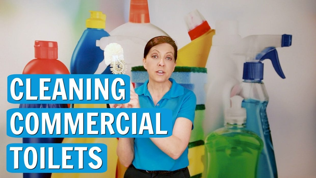 Cleaning Commercial Toilets, Angela Brown, Savvy Cleaner