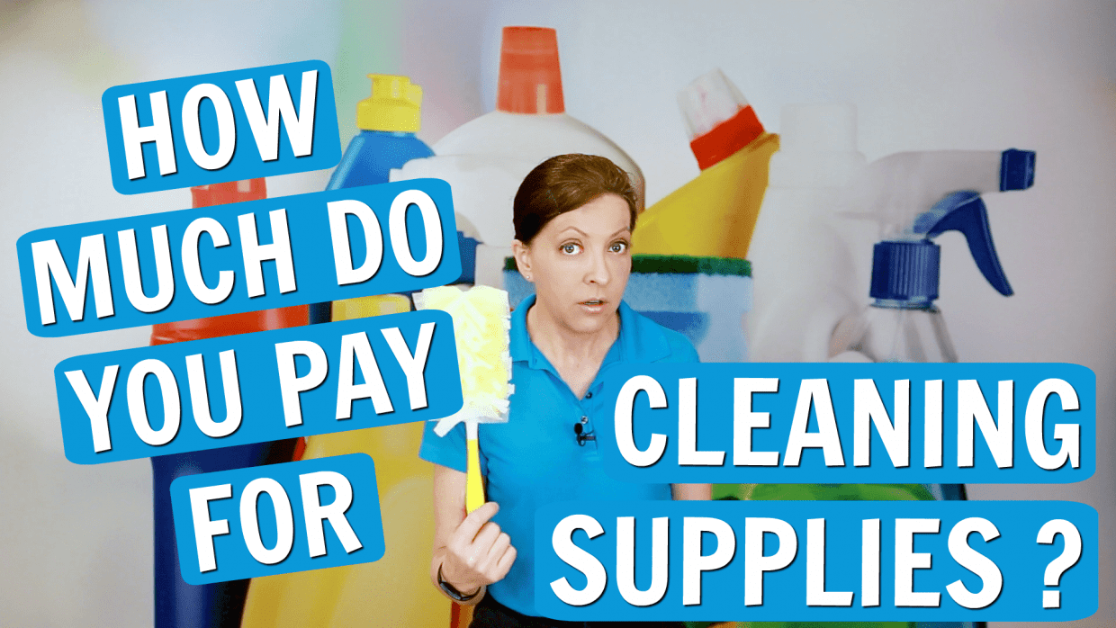 How Much Do You Spend Annually on Cleaning Supplies, Angela Brown, Savvy Cleaner