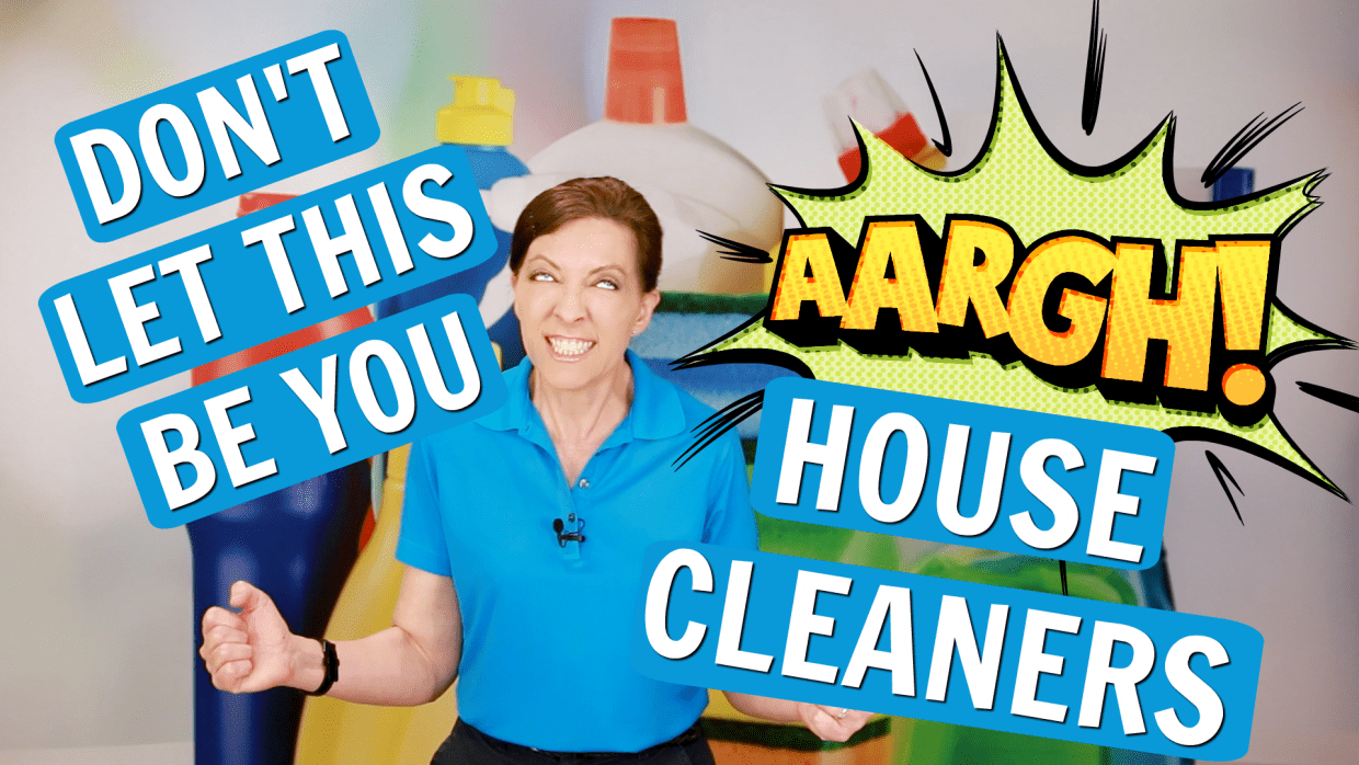 Biggest Mistakes House Cleaners Made, Angela Brown, Savvy Cleaner